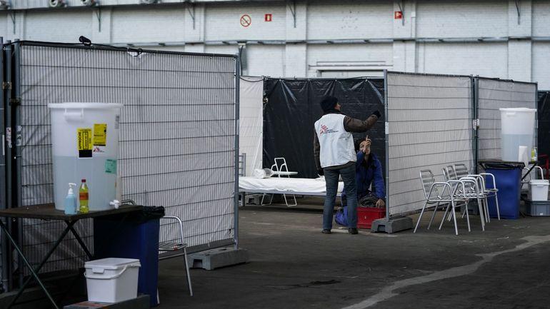 Six cas positifs au Covid-19 au centre d'accueil MSF à Bruxelles