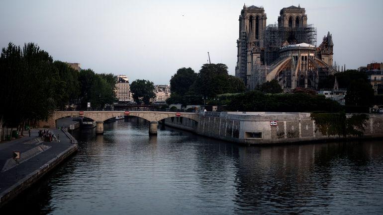 Incendie à Notre-Dame de Paris: reprise du chantier de consolidation de Notre-Dam