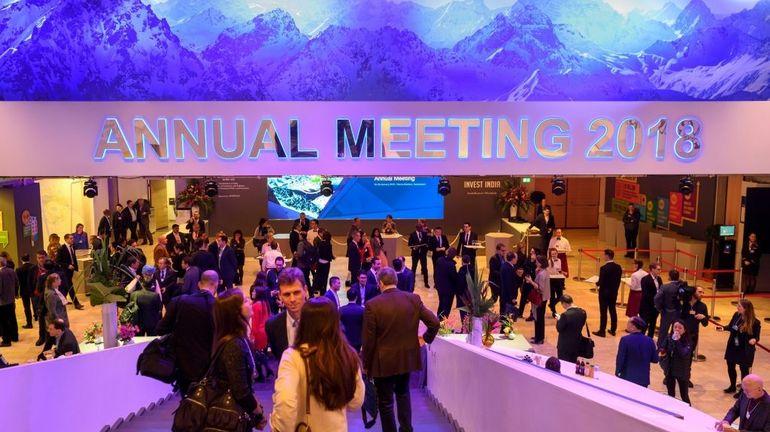 Davos: le Premier ministre et le roi à la rencontre des patrons et chefs d'Etat