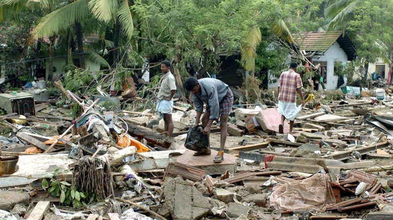 Il y a 15 ans, un tsunami de 35m de hauteur faisait 230.000 morts dans une douzaine de pays de l'océan Indien