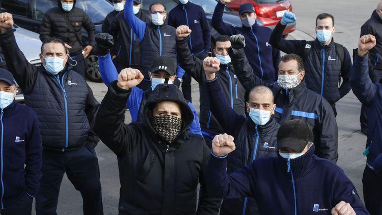 Coronavirus en Belgique: la colère gronde chez le personnel, le réseau de la Stib fortement perturbé