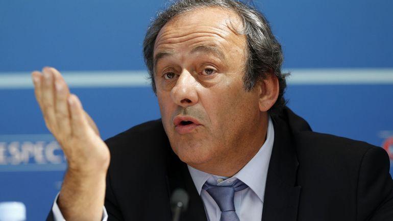Mondial 2022 au Qatar: Michel Platini en garde à vue