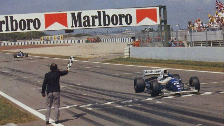 F1, Espagne 1994 : Damon Hill frustre Michael Schumacher, bloqué en 5e vitesse