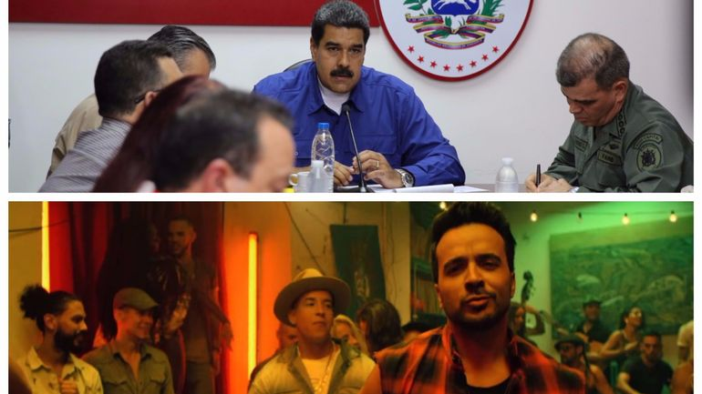 "Venezuela: la vidéo de ""Despacito"" par Maduro condamnée par Luis Fonsi"