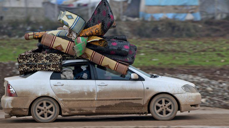 Syrie: 800.000 personnes déplacées depuis décembre à cause de l'offensive de Bachar al-Assad