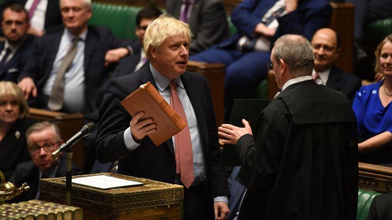 Brexit: Johnson présente l'accord de retrait du Royaume-Uni de l'UE à la Chambre des communes