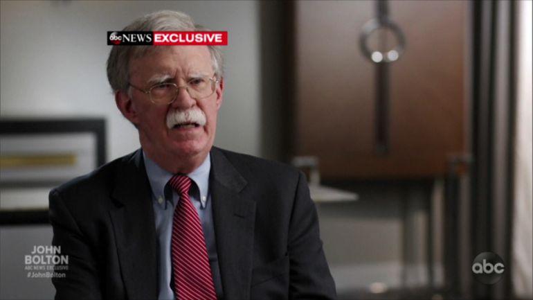 Capacité à se concentrer, nucléaire, destitution: ce que dit John Bolton au sujet de Donald Trump