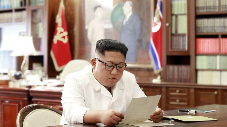 """Corée du Nord: Kim Jong Un a reçu une """"excellente"""" lettre de Donald Trump"""