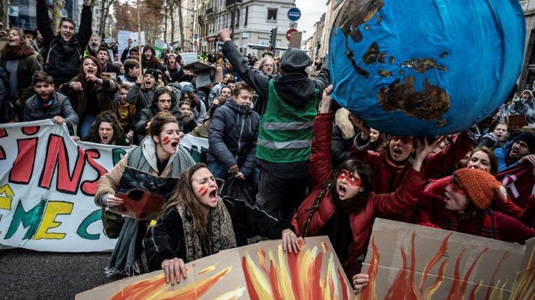 France: Lyon donne le coup d'envoi de la Marche mondiale pour le climat