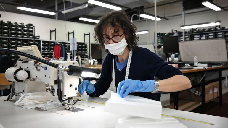 Coronavirus en Belgique: aucune nouvelle des masques en tissu de la société luxembourgeoise Avrox