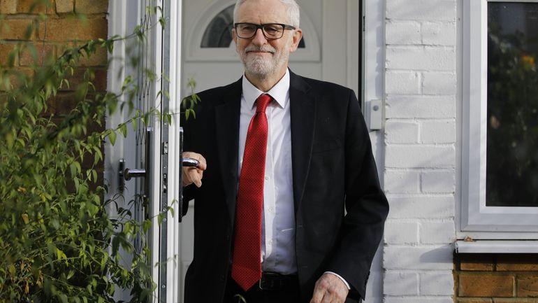 Elections au Royaume-Uni: Jeremy Corbyn quittera son poste de chef du Labour au début de l'année prochaine