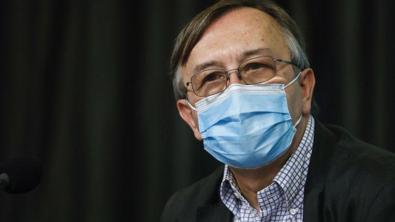 """Coronavirus en Belgique: une conférence de presse sans Yves Van Laethem, en quarantaine """"par précaution"""""""
