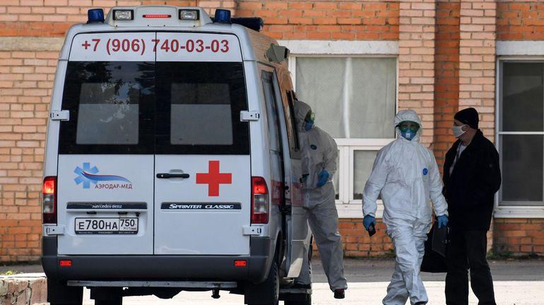 Coronavirus en Russie: plus de 10.000 nouveaux cas enregistrés