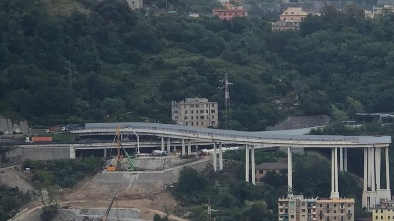 Italie: un an après la chute du Pont Morandi