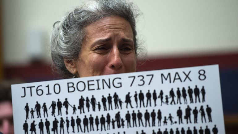 Boeing annonce 100millions de dollars pour les familles des victimes du 737 MAX