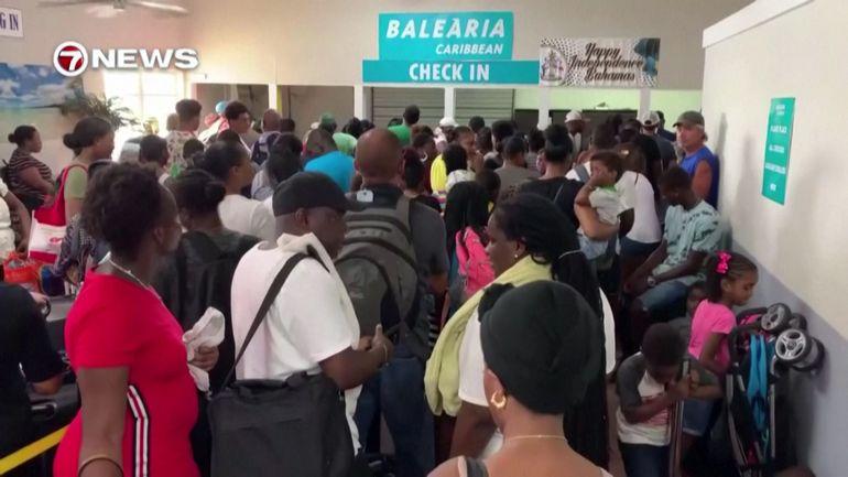Confusion autour de l'accueil des rescapés de l'ouragan Dorian