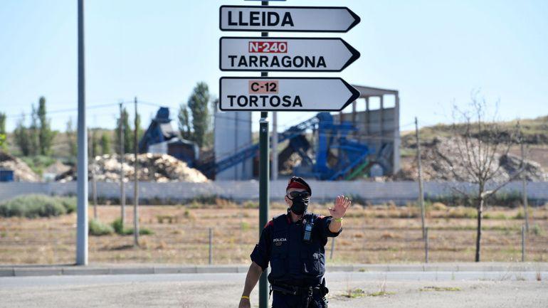 Coronavirus : le conseil de voyage en Espagne passe de vert à orange depuis le confinement à Lerida