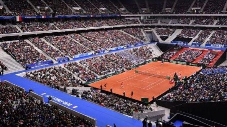 RTBF, La France choisit Lille pour recevoir la Belgique en finale de Coupe Davis