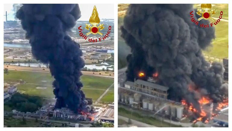Italie : explosion dans une usine chimique de la banlieue de Venise