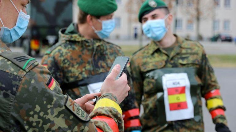 L'Allemagne mise sur les portables et le bluetooth contre l'épidémie de Covid-19