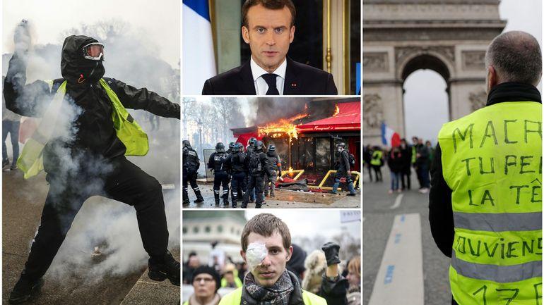 Gaz lacrymogènes, pillages, dégradations: retour en 10 dates sur les mobilisations des gilets jaunes en France