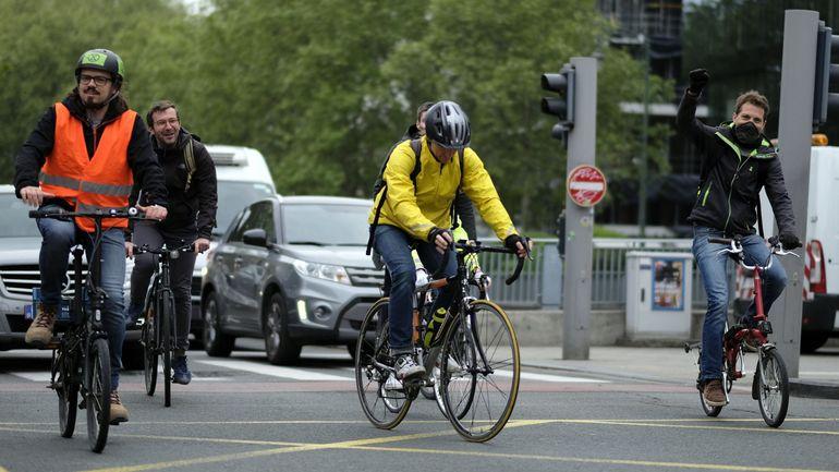 Semaine de la mobilité: deux fois plus de Belges qu'il y a cinq ans se rendent au travail à vélo