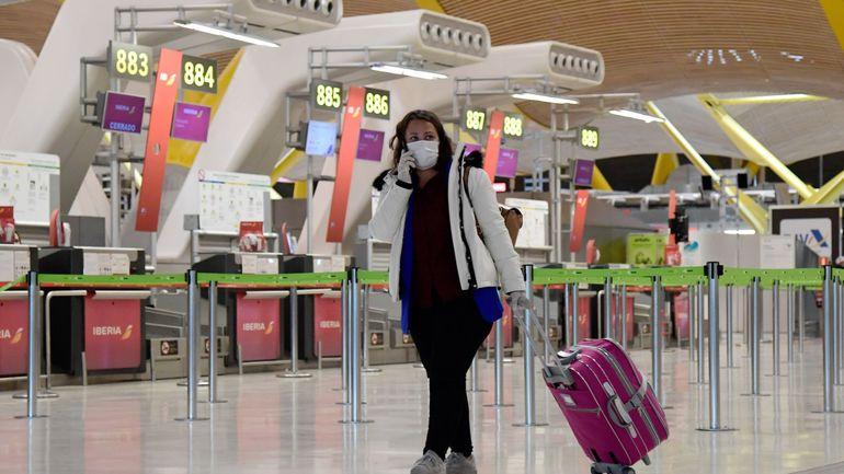 Coronavirus en Espagne: les personnes venant de l'étranger seront mises en quarantaine