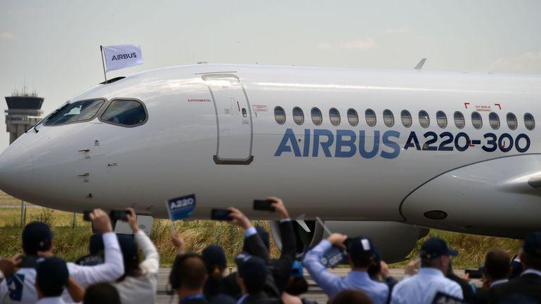 Air France-KLM commande à Airbus 60 A220-300, au prix catalogue de 5,490 milliards de dollars
