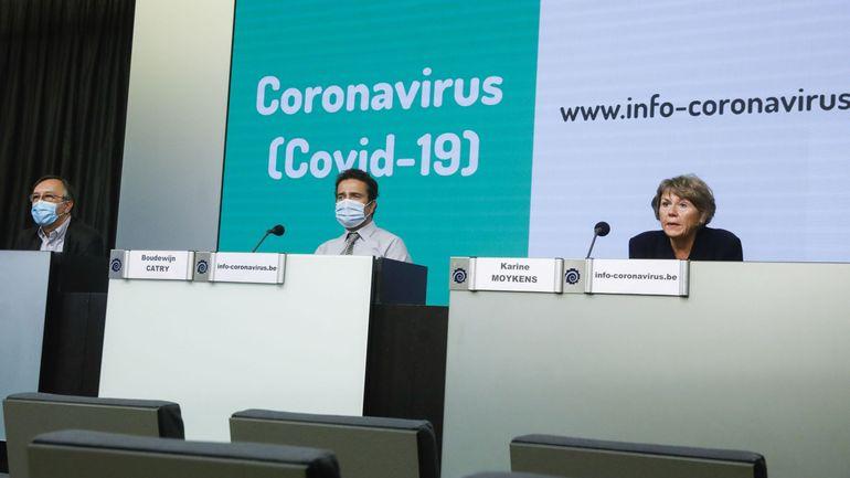 Coronavirus en Belgique: suivez en direct la conférence de presse du centre de crise à 11h