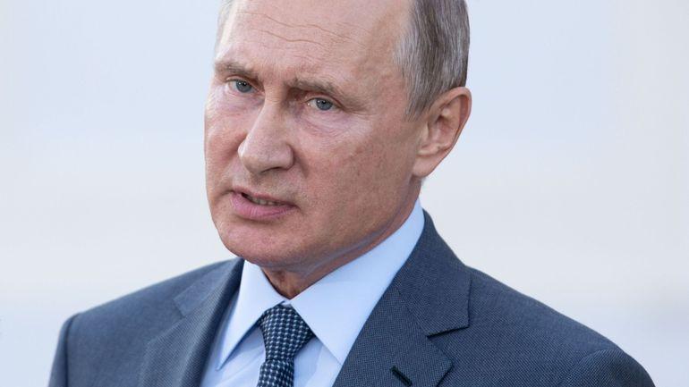 """Vladimir Poutine: """"Tant que je serais président, il n'y aura pas de mariage homosexuel"""""""