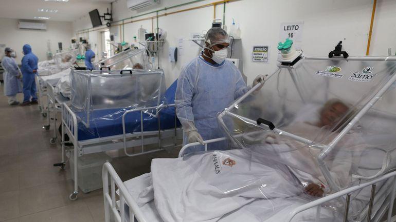 Coronavirus au Brésil: le seuil des 25.000 morts est franchi