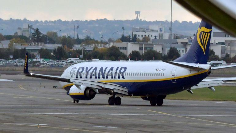Ryanair va retirer un de ses quatre 737 MAX basés à Zaventem