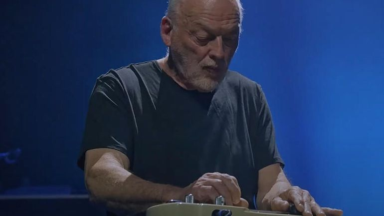 """Quand David Gilmour reprend """"Albatross"""" de Fleetwood Mac à la lap-steel guitar"""