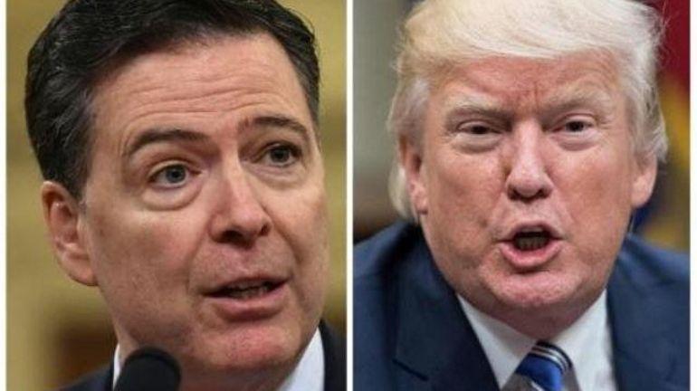 Trump obsédé par l'enquête russe, selon les notes de l'ex-chef du FBI James Comey