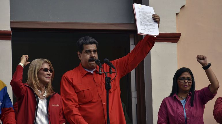 Maduro annonce que le Venezuela rompt ses relations diplomatiques avec les Etats-Unis
