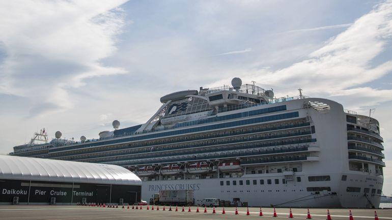 Coronavirus: 44 nouveaux cas à bord du bateau de croisière au Japon