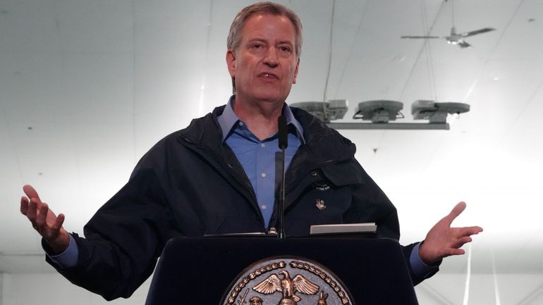 Mort de George Floyd: le maire de New York impose un couvre-feu de 23heures à 5heures