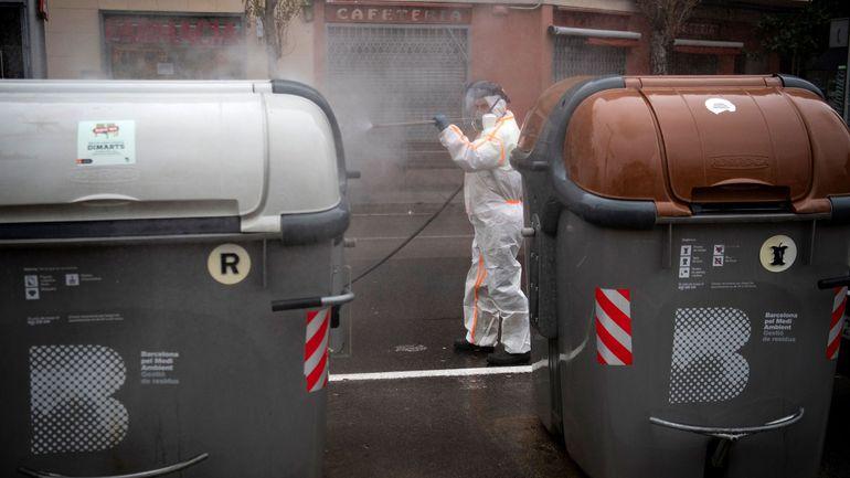 L'Espagne dépasse la barre des 10.000 morts dus au coronavirus