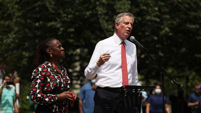 "Etats-Unis : New York rebaptise cinq rues ""Black Lives Matter"", selon le maire"