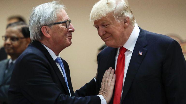Jean-Claude Juncker rencontrera Donald Trump à Washington le mercredi 25 juillet