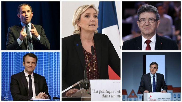 Présidentielle française: les candidats entament une bataille de chiffres