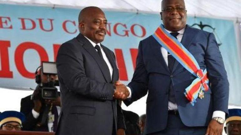 Joseph Kabila rassemble ses partisans trois jours après une visite chez Tshisekedi