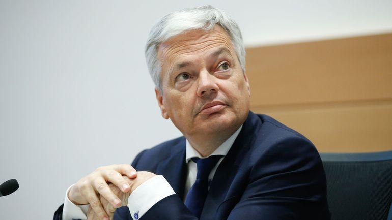 Didier Reynders convoqué jeudi par la commission de la défense de la Chambre