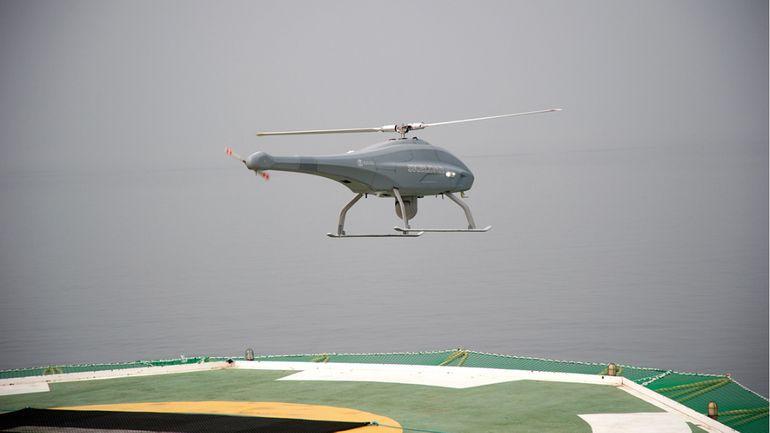 Un drone aérien hélvéto-suédois pour les futurs navires de lutte contre les mines