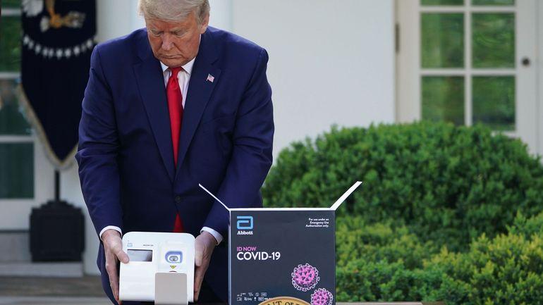 Coronavirus aux USA: Donald Trump affirme qu'un million d'Américains ont déjà été testés