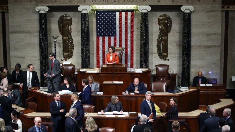 Etats-Unis: la Chambre approuve l'enquête en destitution de Donald Trump lors d'un vote clé