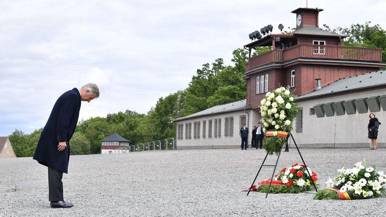 Le couple royal sur les traces des 4.200 Belges détenus à Buchenwald pendant la guerre