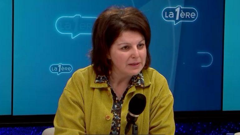 """Marie-Hélène Ska, secrétaire générale de la CSC: """"Nous ferons en sorte que même s'il y a 500.00 cas de chômage temporaire demain ces montants seront payés pour que chacun continue à vivre"""""""