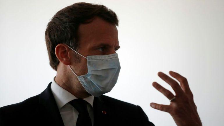 """La visite surprise de Macron au professeur controversé Raoult: """"pas une reconnaissance"""" de la chloroquine contre le coronavirus"""