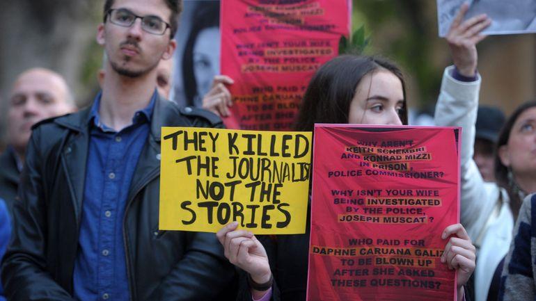 Journaliste maltaise assassinée: \